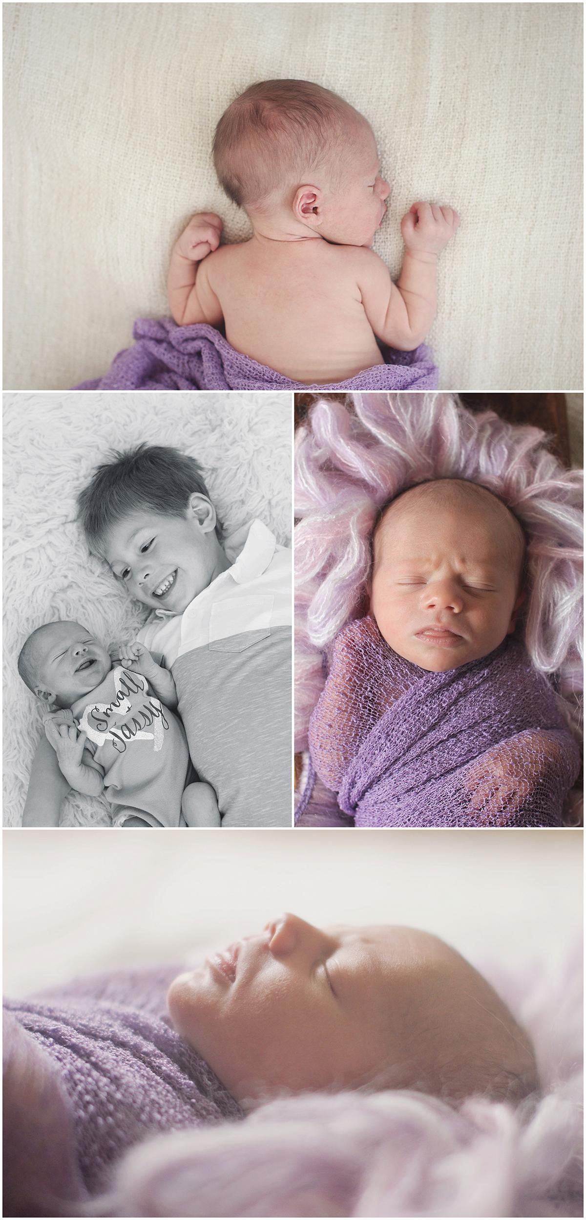 Kansas City Newborn Baby Portrait Photographer