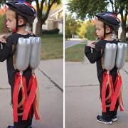 DIY Halloween Rocket Pack