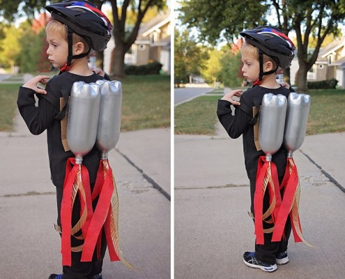 DIY Halloween Rocket Pack