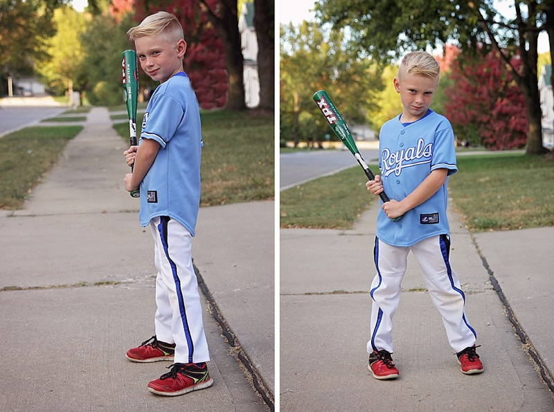 DIY Halloween Baseball Player