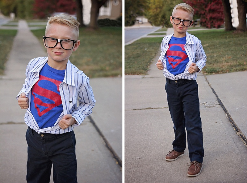 DIY Halloween Superman
