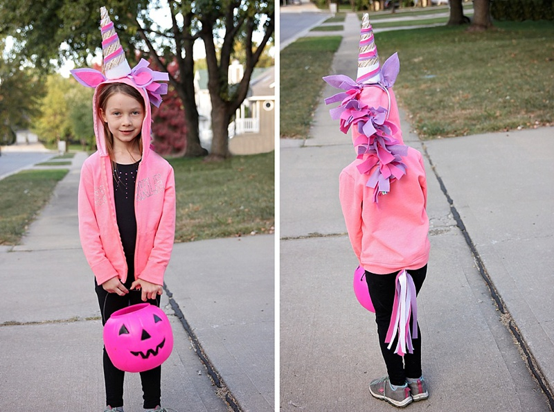 DIY Halloween Unicorn