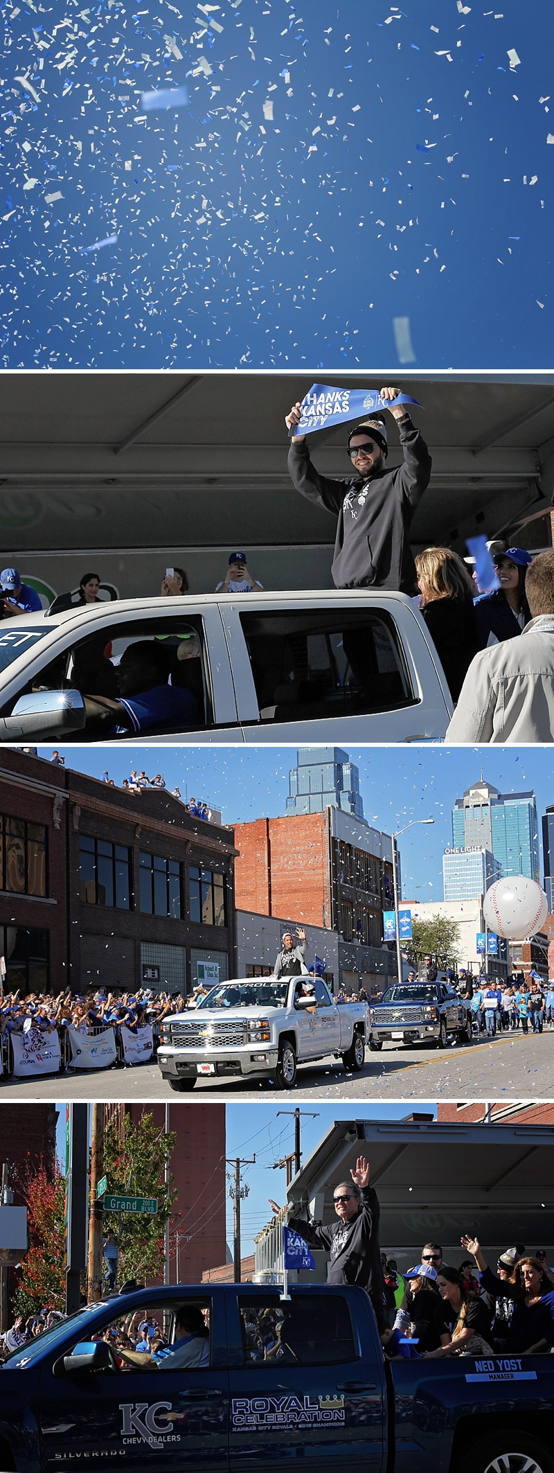 Kansas City Royals Victory Parade 2015