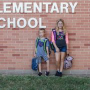 Tate First Day of Kindergarten