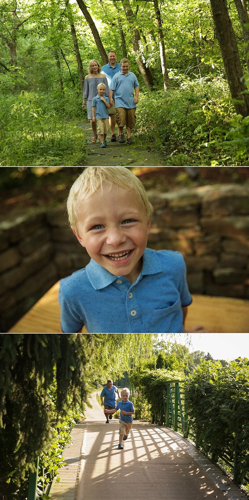OP Arboretum Family Session