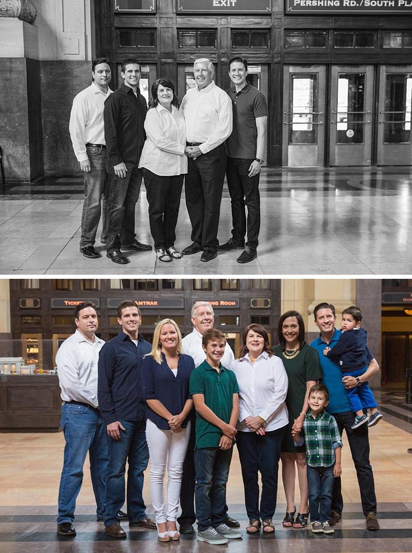 Kansas City Union Station Family Photo Session