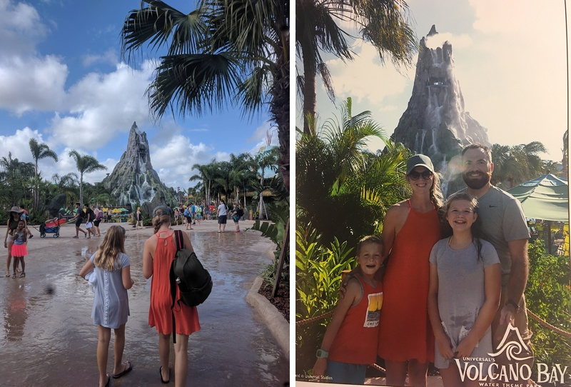 Universal Studios - Volcano Bay